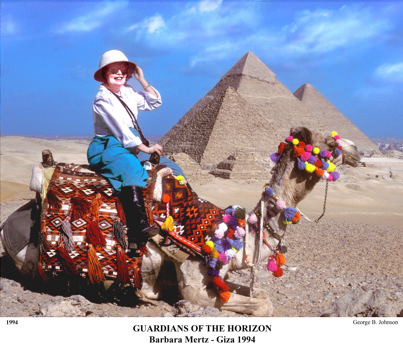 1a Barbara Mertz camel 1994 jpg